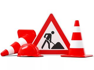 Начало ремонта дороги